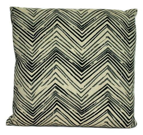 Kussen met grafische print (grijs) Linen & More-0